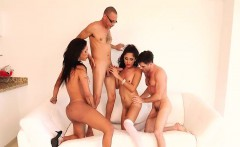 Tgirl nailed dudes ass in group
