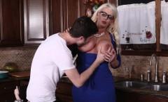 Big fat blonde bad milf Alura Jensen takes control