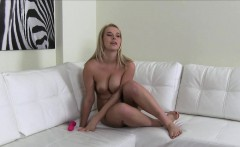casted amateur titfucked during euro audition