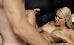 fat model blowjob with cum in mouth