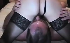 Cuckold husband gets the cum