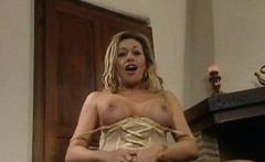 Antonella del Lago playing with her sex toy