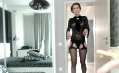 stunning stunning camgirl shows it all on webcam