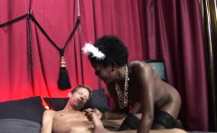 Amsterdam ebony hooker pov fucked and spunked