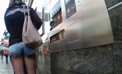 hidden cam in public toilet