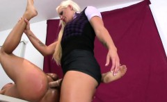 nymphos plow men anus with massive belt cocks and squirt cha