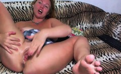 naughty babe fists her own pussy and toying butt hole