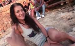 Hot beach fucking featuring Samia Duarte