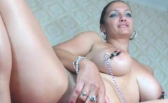yummy milf uses her new sex toy