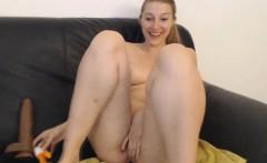 Pretty British Babe Squirting After Masturbating