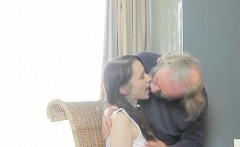 Sensual Schoolgirl Is Tempted And Poked By Her Elder Mentor