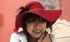 Rika Hayama provides blowjob and then harsh sex
