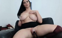 White brunette with big boobs porn