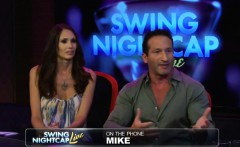 Swingers having group action in reality show