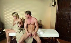 massage amateur gagging on masseurs dick