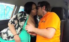 Ebony BBW Busty Cookie Screws Driving Instructor