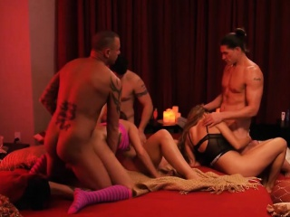 Married couples swap partner and enjoyed nasty groupsex
