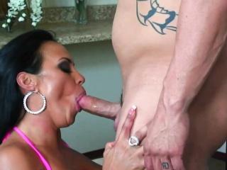 Mariah Milano gets nailed with a big cock