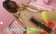 Lemon Mopmosaki amazing Chinese girl in stockings enjoys