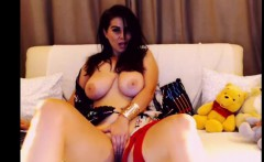 a dirty massive boobied model in homemade porn show