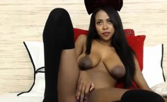 Ebony black panther chocolate breasts