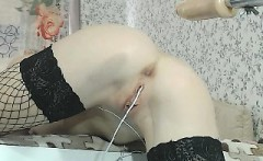 Anal sex machine masturbation