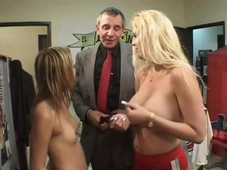 Cute playgirl seduces teacher and bonks him passionately