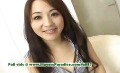 Miina superb asian girl gets nipples licked