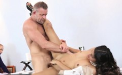 mother walks in on patron's daughter and cop fucks mom xxx b