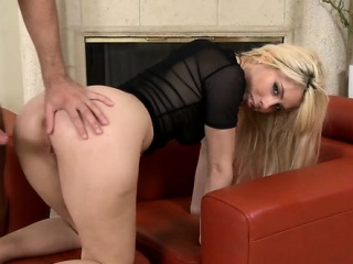 Hottest action with a milf gal riding cock non stop