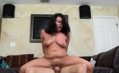 Small lady with rocking body enjoys a sexy banging session
