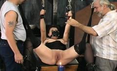 Neat non-professional women hard sex in bondage bizarre show