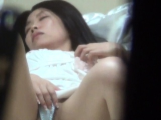 Hairy cunt rubbing asian