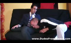 Hot french gay dude assfucks hard guys smooth tight ass