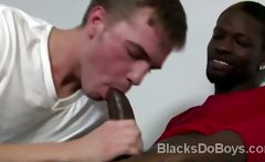 Gay hitchhiker Cameron Davis gets picked up by horny brotha