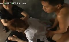 diabolically hot anal asian fisting