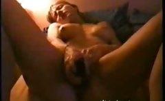 French Milf Claudia 43 cumming on webcam