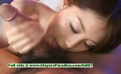 Aya Hirai innocent chinese girl gives blowjob