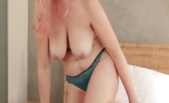 Sexy mature lady with big tits