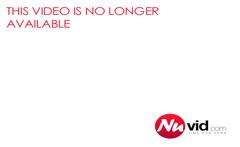 Sexy brunette babe smokes a cigarette