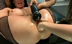 Exotic Fucking In Seductive Busty Puckering Hole