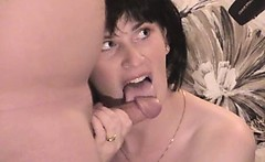 Brunette mature amateur swinger wife cuckold and sexy