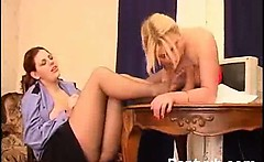 Smothering Chick Pantyhose Penetrated Wild