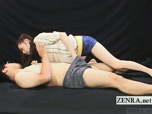 Valuable subtitled cfnm japanese caregiver blowjob