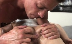 Sexy straight ass rubbed