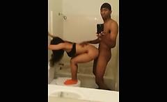 Ghetto Teens Bathroom Sex