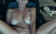 Horny Girl Masturbating