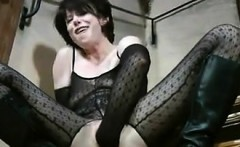 Slut Fists Her Own Pussy