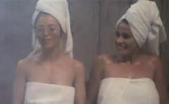 Lesbians In The Sauna