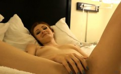 Creampie Violet after waking up